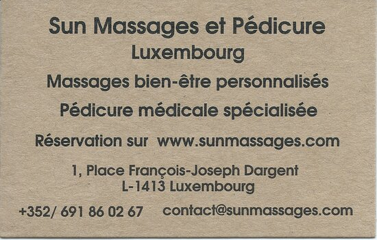 Sun Massages Luxembourg