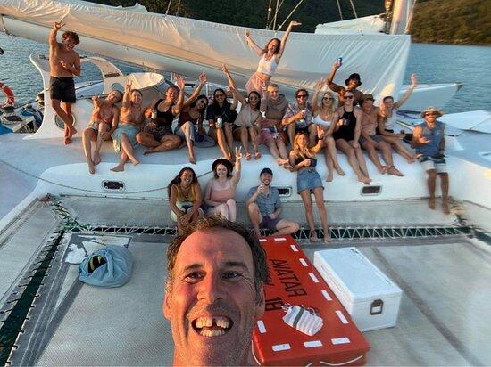 2 day 2 night cruise on the Avatar. Best crew!