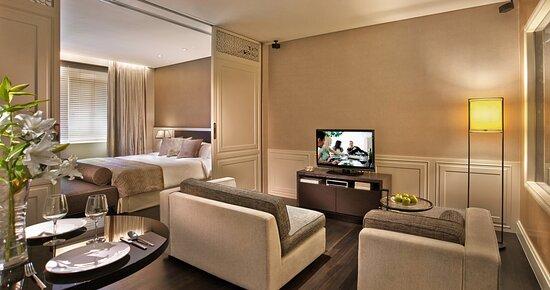 Living Area Of Collyer Suite (1 Bedroom)