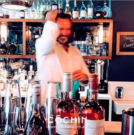 Wine & cocktail bar.