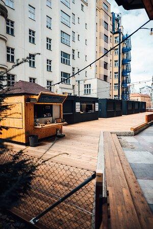 #TheBackyardKotva Food & Beverages concepts in heart of Prague Since - May 2021 IG: https://www.instagram.com/thebackyard_kotva/