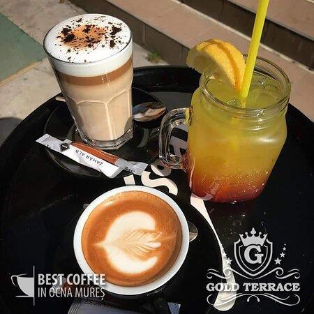 We invite you to enjoy in an intimate and quiet setting in Ocna Mureș, lemonade, milkshake, fresh, refreshing, juices, energizers.
