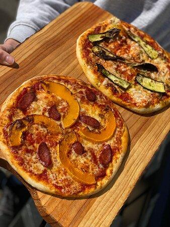 Roast Squash Pizza!