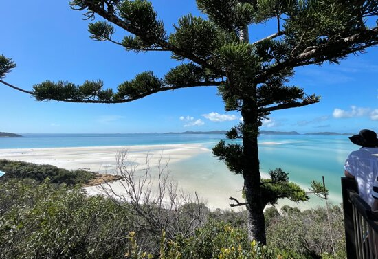 Whitehaven Beach and Hill Inlet Lookout Full-Day Snorkeling Cruise by High-Speed Catamaran: Hill Inlet Lookout is a magic view of Whitehaven