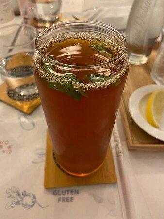 SAFFRON ICE TEA