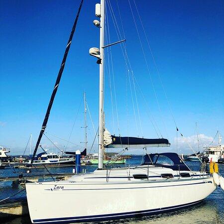 "The yacht ""Zara"""