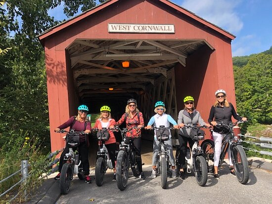 West Cornwall, CT: Group rides and tours on ebikes!