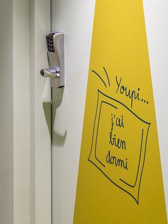 Décoration des portes des chambres
