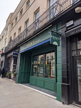 Rosa's Thai Cafe Greenwich - local restaurant serving authentic Thai food for dine-in, takeaway and delivery.