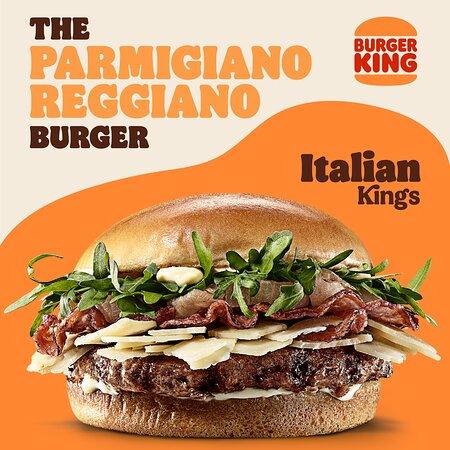 Parmiggiano Reggiano Burger