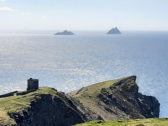Skellig's from Bray Head