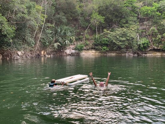 Bird Watching Tour in the Amazili Nature Reserve and Cenote Kax Ek: green gem