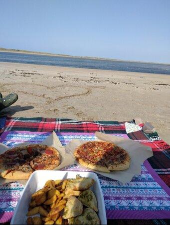Cloghane, Irlanda: Pizza on the Beach