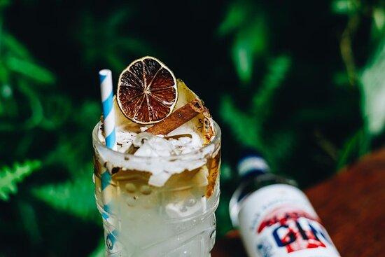 Um dos nossos drinks autorais, Solarium
