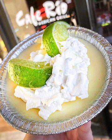 Cafe Rio Fresh Lime Pie