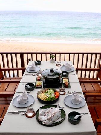 Baitong Restaurant, Banana Fan Sea Resort