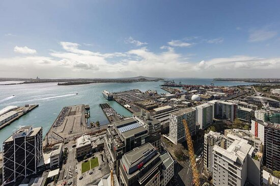 Harbour view from Two Bedroom Superior Suite