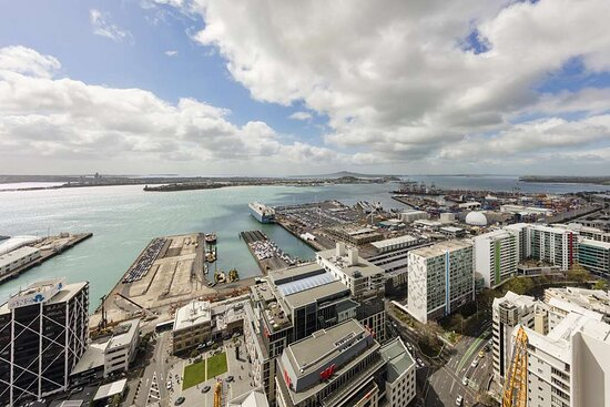 View over harbour from One Bedroom Suite