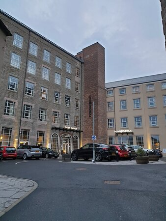 Hotel Indigo Dundee, stayed early May 2021