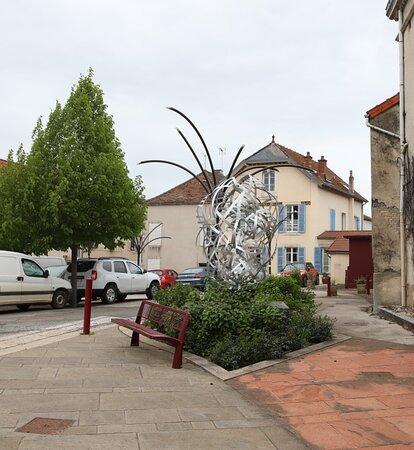 Sculpture: Nodulus Acier