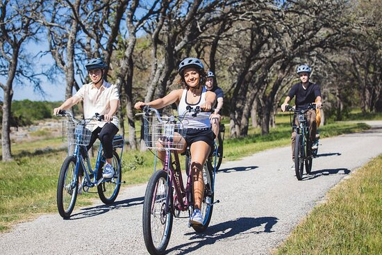 Biking along Ranch Road 1 is a great way to experience the Texas Hill Country.
