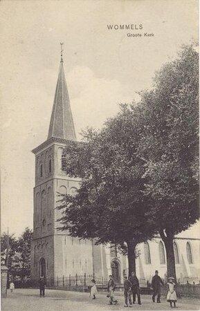 Ansichtkaart, omstreeks 1950