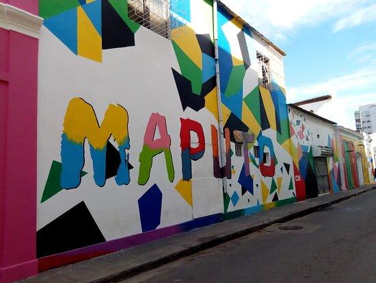 visite à pied Maputo