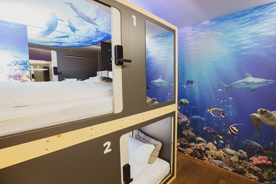 Unterwasser Kapselzimmer
