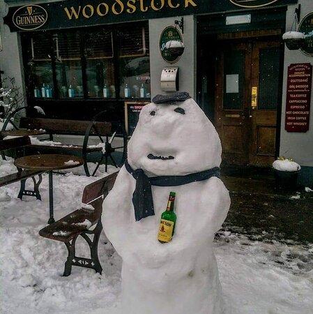 Inistioge, Irlande : Snow