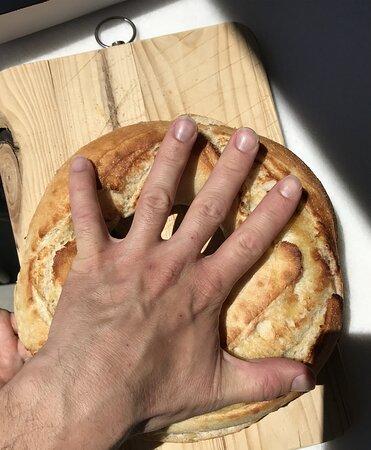 El tamaño de la rosca, pequeñito