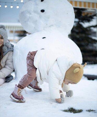 Kids love Crafts in Winter
