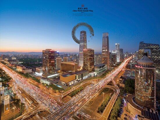 Shangri-La China World Summit Wing, Beijing, hôtels à Pékin