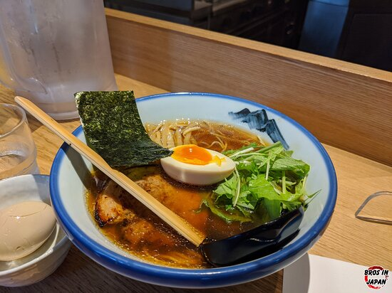 Great ramen and great interior. Definitely worth a visit if you're in Ebisu and hungry for some ramen!