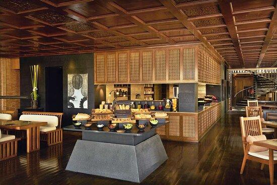 Interior decoration of The Restaurant
