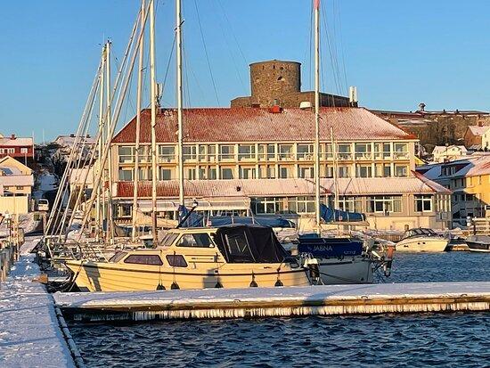 Hotell Villa Maritime på vintern