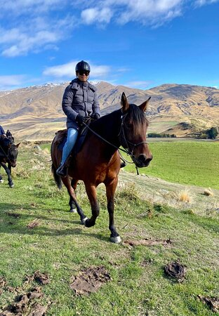 Small-Group Gold Discovery Horse Riding in Cardrona Valley: Horse trekking in the most beautiful place on Earth on Toby
