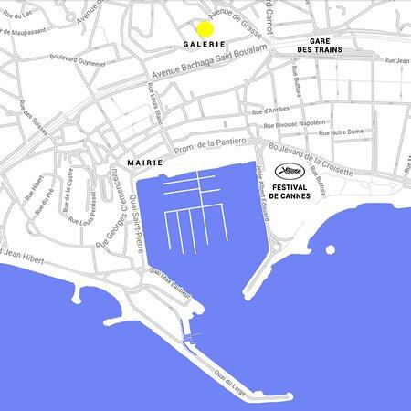 Galerie d'art contemporain à Cannes. WE ARE OPEN - May 2021. Nous sommes à dix minutes à pied de la Croisette www.instagram.com/labananegalerie