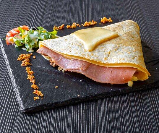 Crepe raclette