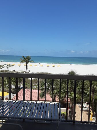 View from balcony at Gulf Gate Resort unit 303