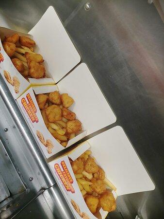 Chicken chunk box