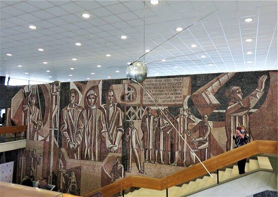 Калуга. Музей истории космонавтики. Самый первый спутник.