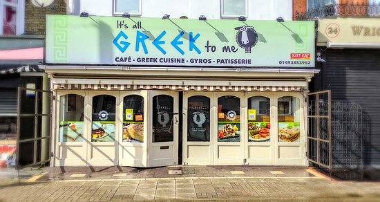 It's All Greek To Me, Regent Road 23 - Great Yarmouth - NR30 2AF - 01493 853952