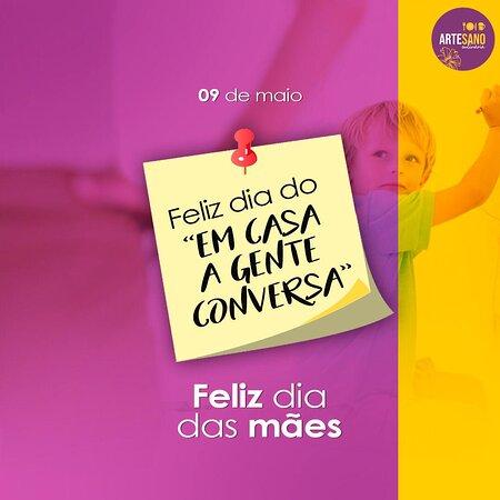 Artesano deseja muita saúde e felicidade à todas as Mamães do mundo.