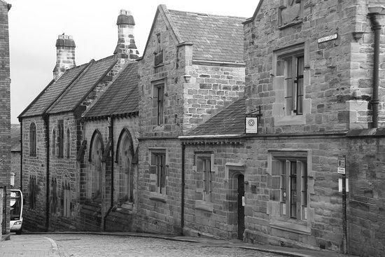 Durham, North East England, United Kingdom - up the Owengate.