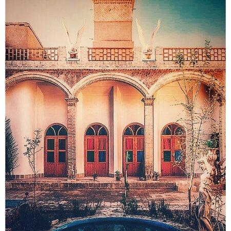 Yazd, Iran: The front yard view