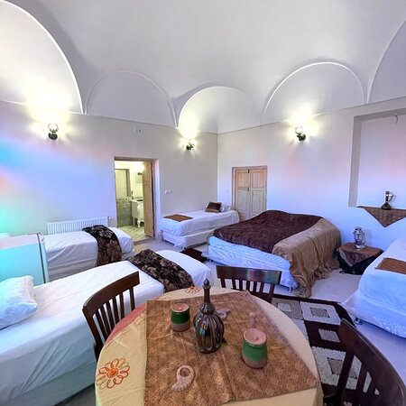 Yazd, Iran: The room named Taraneh. Full furnished featuring The Wind Catcher. Master. Capacity: 6