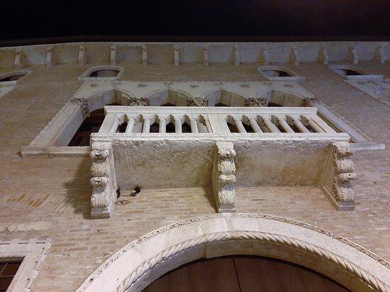 Particolare di un palazzo nobiliare