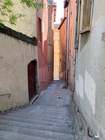 Vieux-Lyon - montée des chazeaux