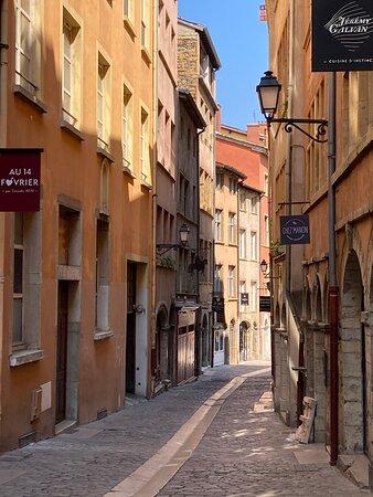 Vieux-Lyon rue du boeuf