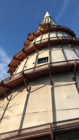 Jahrtausendturm Magdeburg muzeum vyhliadka Magdeburg